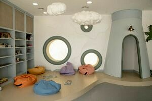 Детская комната на пляже 3